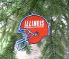Illini Christmas ornament NEW ILLINI ITEMS