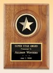 American Walnut Star Plaque Achievement Awards