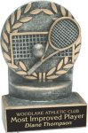 Tennis - Wreath Resin Trophy All Award Trophies