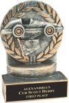 Racing - Wreath Resin Trophy All Award Trophies