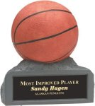 Basketball - Colored Resin Trophy Basketball Award Trophies