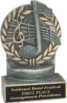 Music - Wreath Resin Trophy Music Award Trophies