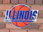 Basketball wall sign NEW ILLINI ITEMS
