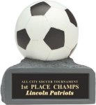 Soccer - Colored Resin Trophy Soccer Award Trophies