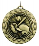 SP: baseball Spinner Medals