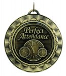 Spinner Perfect Attendance Spinner Medals