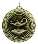 Spinner lamp of knowledge Spinner Medals
