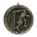 xr ice hockey action Standard Medals