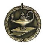 xr lamp of knowledge Standard Medals