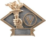 Diamond Plate Resin -Victory Victory Award Trophies