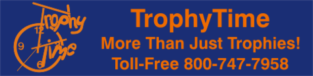 TrophyTime - name badges - plastic